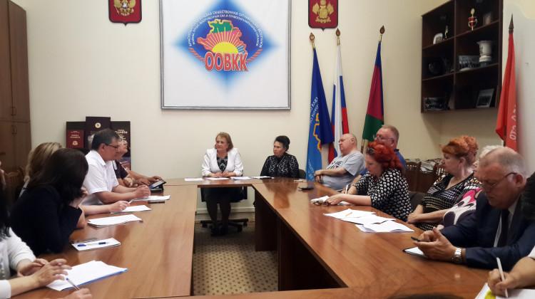 В Краснодаре обсудили вопросы реабилитации  ветеранов боевых действий