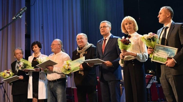 В краевой столице чествовали благотворителей и добровольцев Кубани