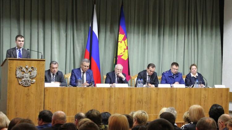В Краснодаре прошло итоговое заседание выездного Совета при Президенте РФ по развитию гражданского общества и правам человека