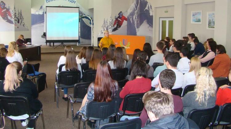 Проблемы кибербезопасности в социальных сетях члены Совета обсудили со студентами Сочинского института РУДН