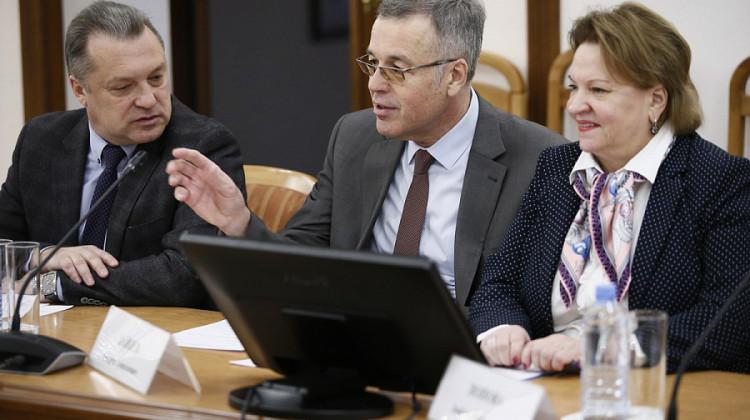 Председатель краевого СПЧ Андрей Зайцев принял участие в обсуждении итогов выборов Президента РФ