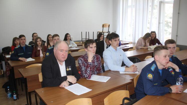 Член краевого СПЧ Павел Снаксарёв выступил с докладом на конференции по истории