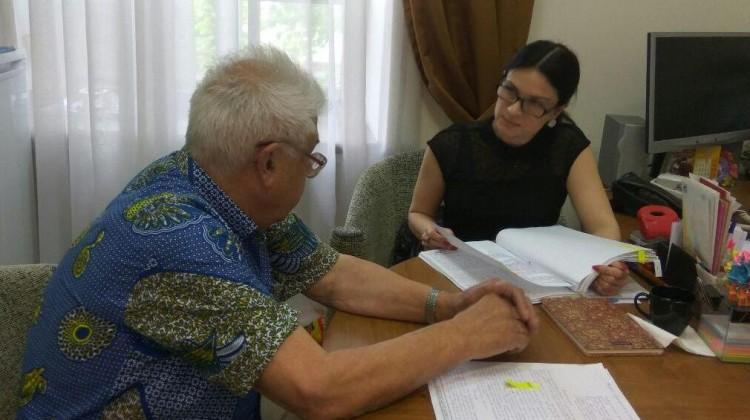 В краевом Совете по правам человека и развитию гражданского общества состоялся приём граждан