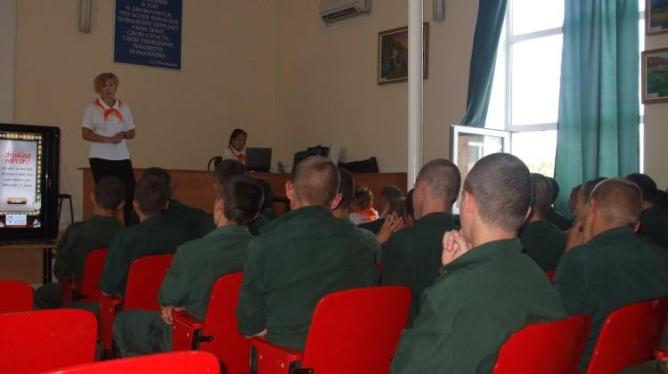 В канун Дня защиты детей член Совета Михаил Дурило посетил Белореченскую воспитательную колонию