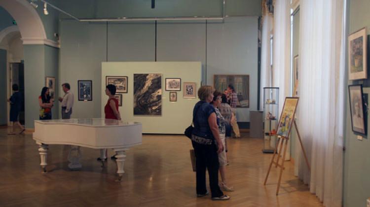 В Краснодаре проходит третья международная выставка-конкурс творческих работ «Мир, как вижу его Я»