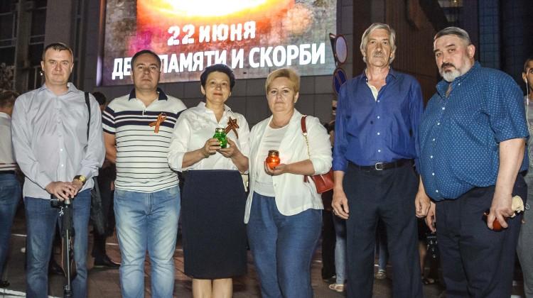 Члены Совета приняли участие во Всероссийской патриотической акции «Свеча памяти»