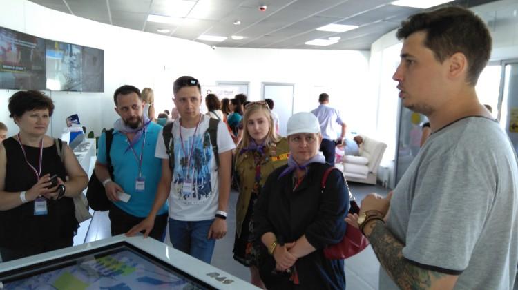 Заместитель председателя Совета Ольга Малахова посетила Всероссийский детский центр «Смена»