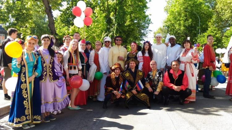В День России пройдёт парад дружбы народов