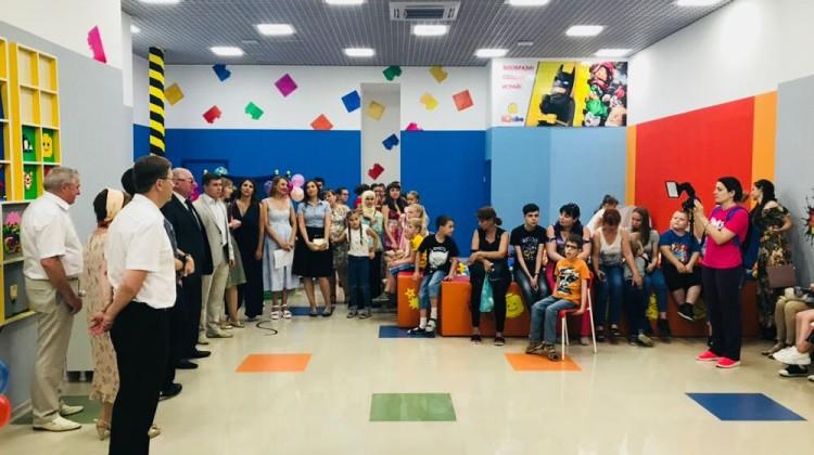 В торгово-развлекательном центре Краснодара прошло праздничное мероприятие, посвящённое Международному Дню защиты детей