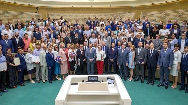 Член Совета Сергей Урайкин награждён благодарностью Министерства сельского хозяйства Российской Федерации