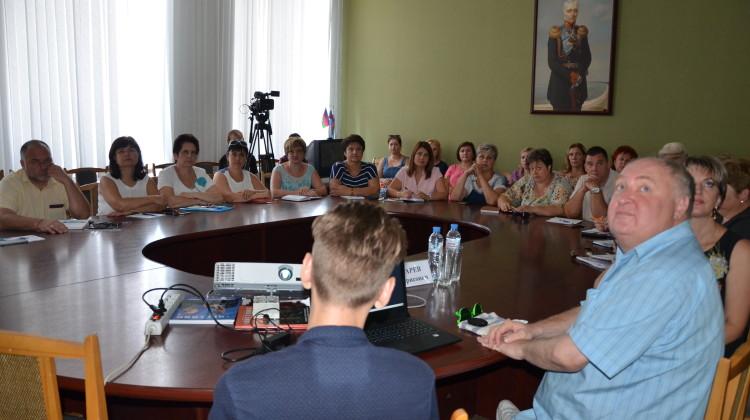 В Ейске обсудили, как поддерживать талантливую молодёжь