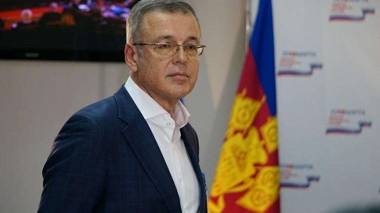 Андрей Зайцев назначен советником губернатора Краснодарского края