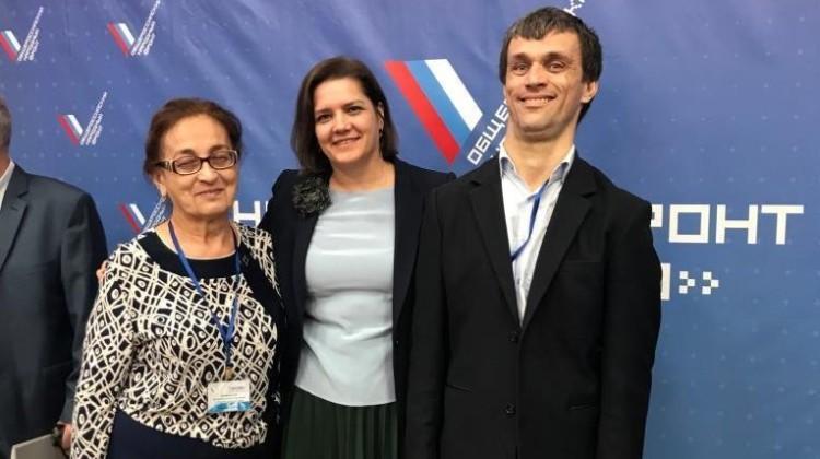 Беслан Аслаханов принял участие в конференции Общероссийского общественного движения «НАРОДНЫЙ ФРОНТ «ЗА РОССИЮ»