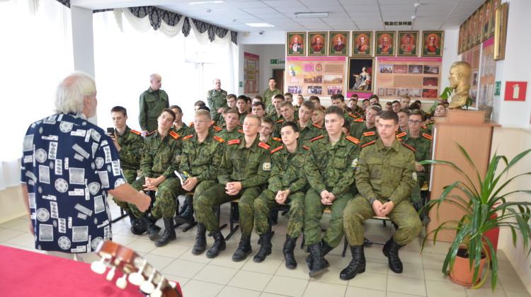 Творчество Маяковского стало доступнее кадетам Кубанского  корпуса имени атамана Бабыча