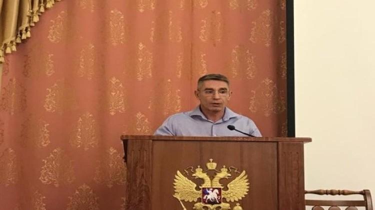 Член СПЧ Александр Макаренко выступил на заседании краевого министерства курортов, туризма и олимпийского наследия