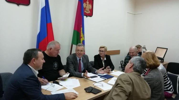 Заседание президиума СПЧ при губернаторе Кубани состоялось сегодня в Краснодаре