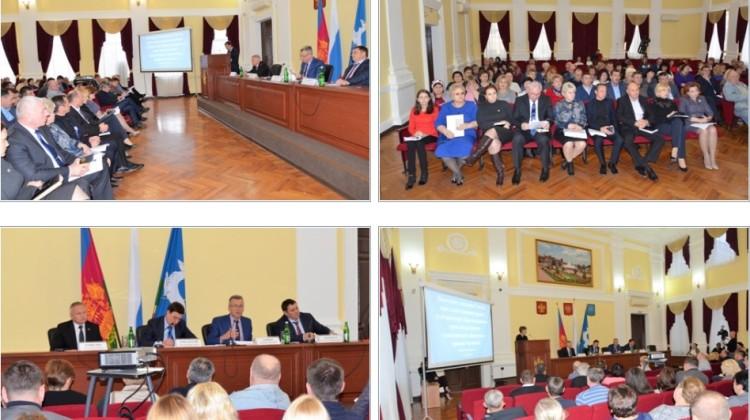 В Кавказском районе впервые прошло выездное заседание Совета при главе администрации Краснодарского края по развитию гражданского общества и правам человека