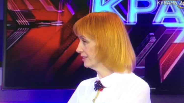 Член Совета Людмила Васильева приняла участие в программе «Через край» на канале «Кубань 24»