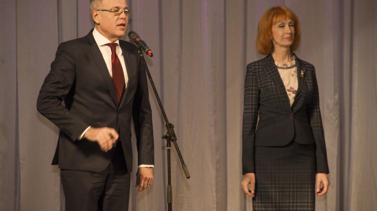 Благотворителейи добровольцевКубани чествовали сегодня в Краснодарскойфилармонии имениГригорияПономаренко