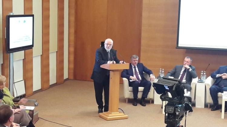 Советник губернатора Андрей Зайцев принял участие в парламентских слушаниях, посвящённых 25-летию Конституции РФ