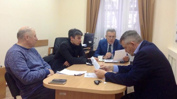 В Совете состояласьвстречас главным редактором информационного портала «За Краснодар»