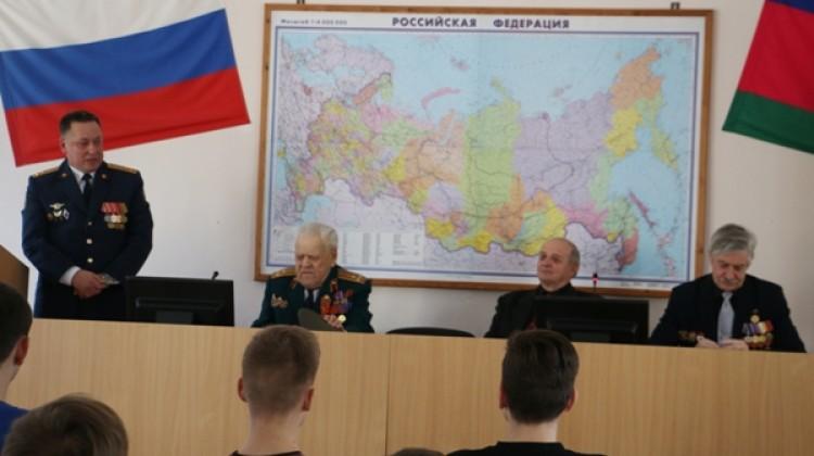 Член Совета Михаил Джурило принял участие в уроке мужества в Краснодарском техническом колледже