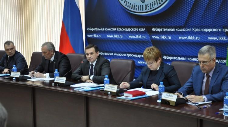Результаты и план работы Общественного экспертного совета при избирательной комиссии Краснодарского края обсуждены на заседании