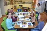 Общественное движение «Содружество» пригласило детей на мастер-класс художника Ольги Ратиевой