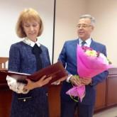 Людмила Васильева принимает поздравления