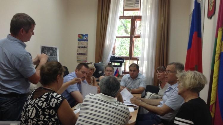 В Совете прошла рабочая встреча с активом микрорайона Гидростроителей