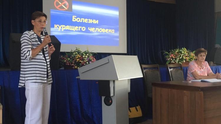 Общественная организация«Легкое дыхание» присоединилась коДню отказа от курения