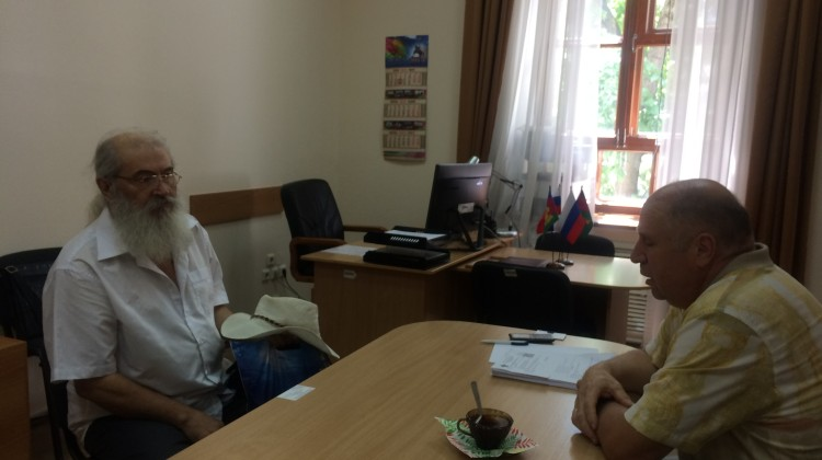 В Совете состоялась встреча Михаила Трусова с краснодарцем, оказавшимся в сложной жизненной ситуации