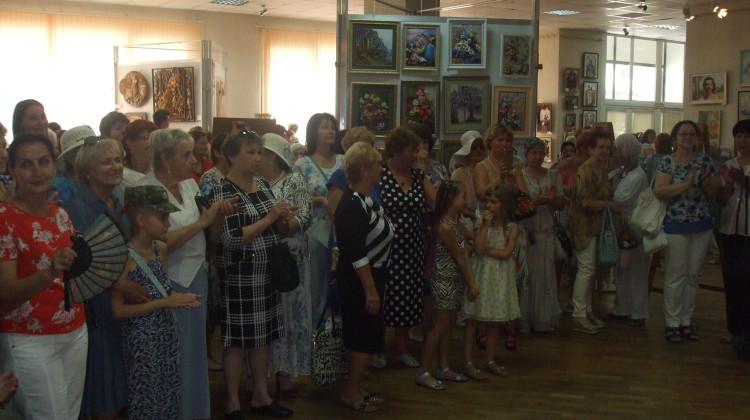 Михаил Джурило поделился впечатлениями от выставки «Мир женщины»