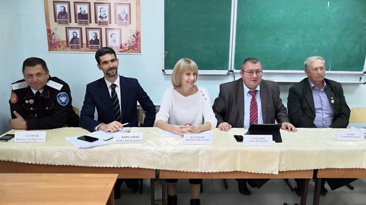 Члены Совета приняли участие в выездном круглом столе в Северском районе