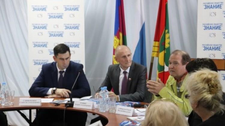 Члены Совета выступили модераторами выездного круглого стола
