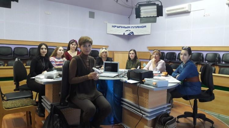 Вера Литкова выступила перед студентами Армавирского колледжа