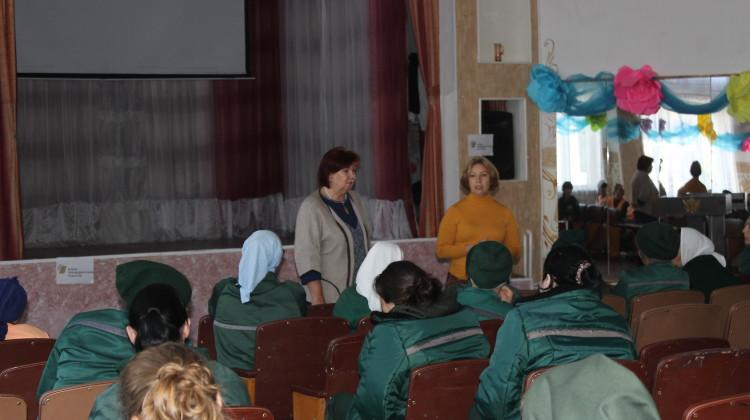 Член Совета Наталья Стрельцова рассказала о духовном развитии осужденных женщин