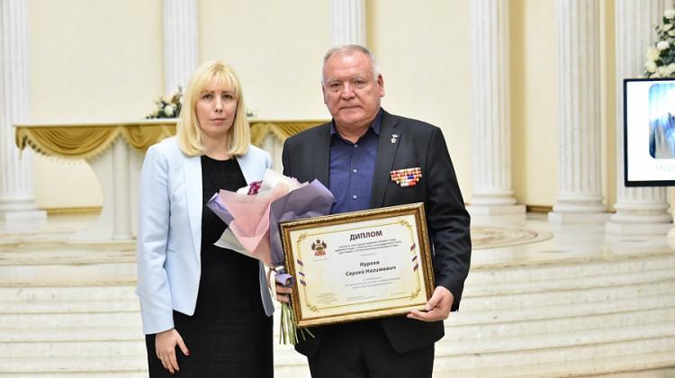 Поздравляем! Сергея Нуреева наградили именной премией губернатора