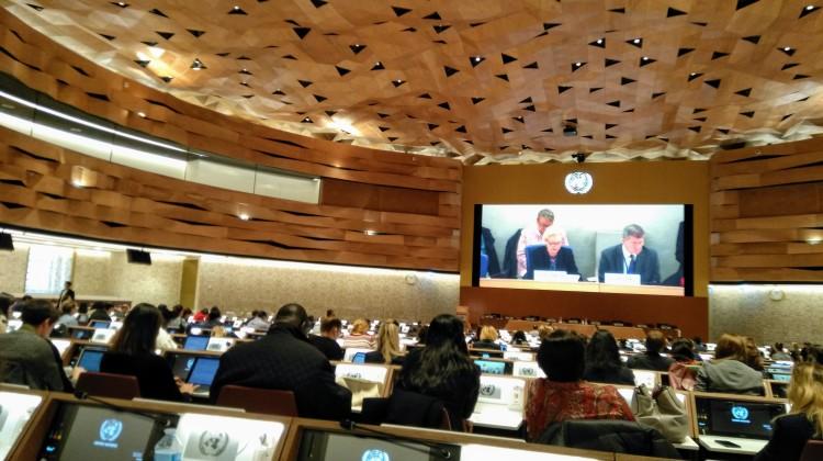 Ольга Малахова приняла участие в работе Форума под эгидой ООН