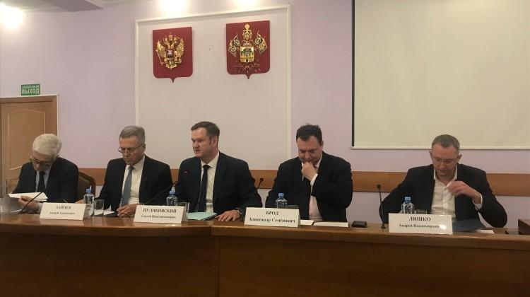 Сегодня состоялось заседание Совета при губернаторе Краснодарского края по развитию гражданского общества и правам человека
