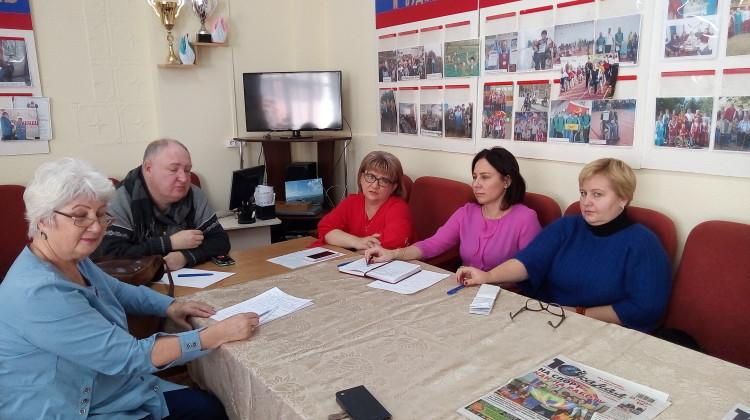 Члены Совета встретились с общественниками станицы Каневской