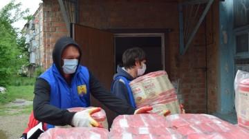 Поможем ВМЕСТЕ. Многодетным семьям края передано1500 продуктовых наборов