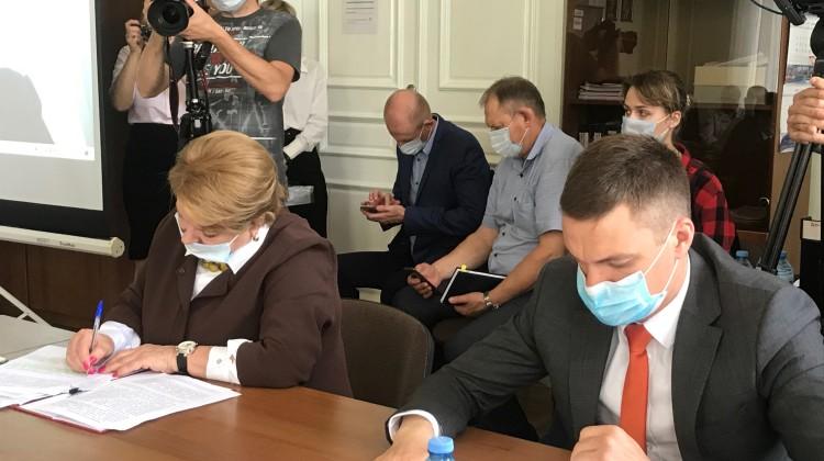 В Краснодаре прошло первое заседание Объединенного штаба общественного наблюдения
