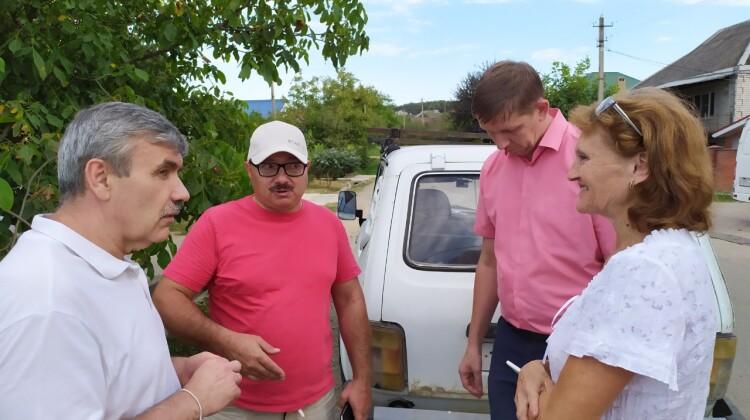 Сергей Зима сообщил о встрече с жителями Горячего Ключа