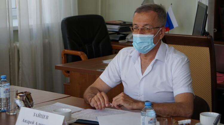 Андрей Зайцев: Голосование проходит с соблюдением всех требований к избирательному процессу
