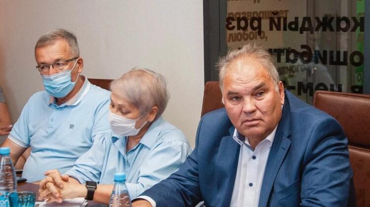 О наставничестве и его роли в развитии бизнеса шла речь во время рабочей встречи в Краснодаре