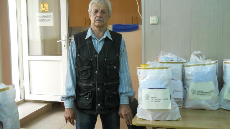 """В рамках проекта """"Код здоровья"""" ветеранамЧернобыляоказана гуманитарная помощь"""