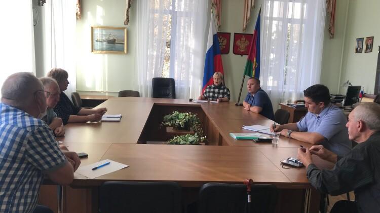Совместное заседание комиссий Совета посвятили решению насущных вопросов