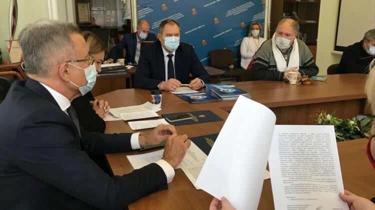 Проект повестки ежегоднойвстречи с губернаторомобсудили назаседаниипрезидиума Совета