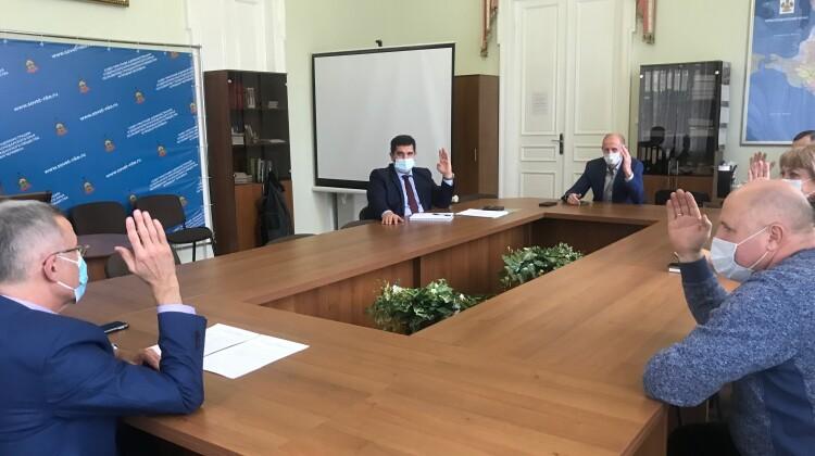 Две комиссии Совета переизбрали своих председателей